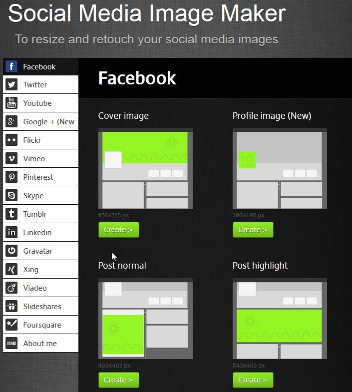 Social Media Image Maker
