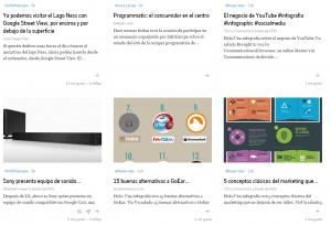 Google+ en Flipboard