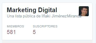Lista Marketing Digital