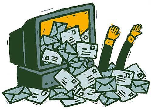 bombardeo de correos