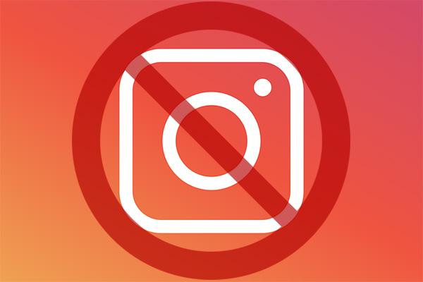 Bloqueo en Instagram