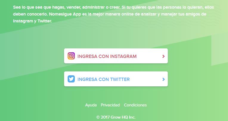 Twitter o Instagram