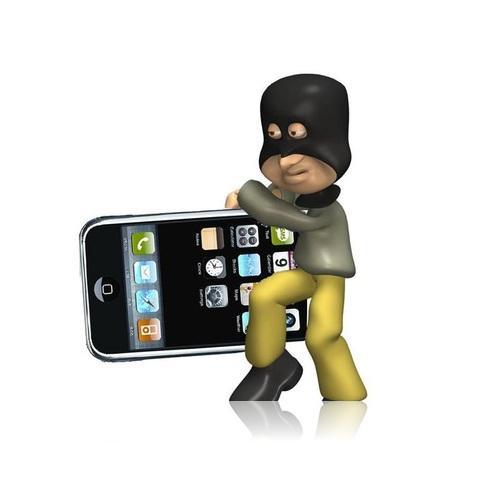 Smartphone robado