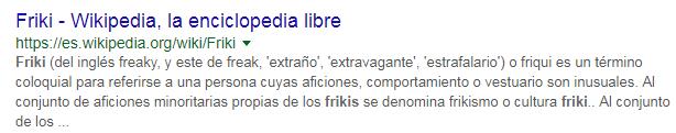 Friki Wikipedia