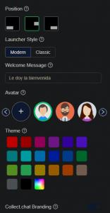 Diseño del chatbot